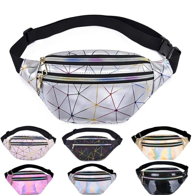 Holographic Fanny Waist Bags