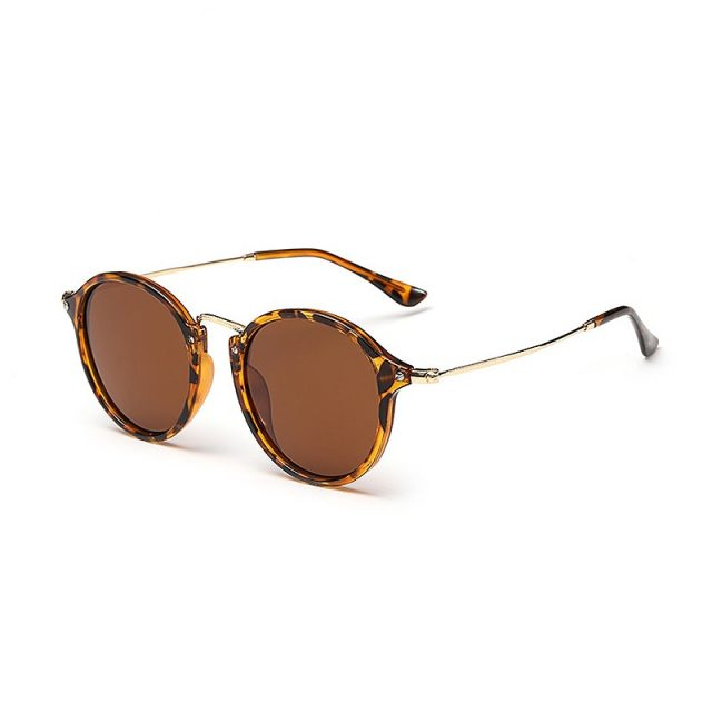Retro Style Polarized Women Sun Glasses